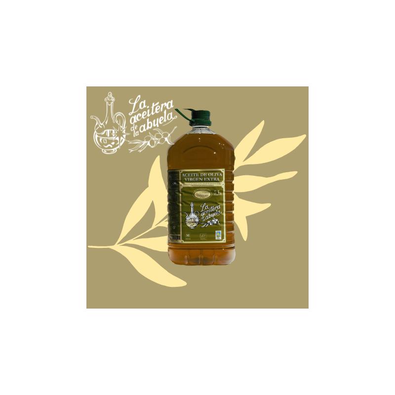 comprar aceite de oliva ecológico 5L